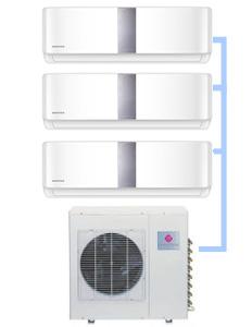 Мульти-сплит система Dantex RK-3M27HM2E-W (на 3 комнаты)