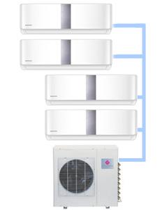 Мульти-сплит система Dantex RK-4M27HME-W (на 4 комнаты)