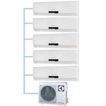 Мульти сплит-система Electrolux EACO/I-42 FMI-5/N3_ERP (на 5 комнат)